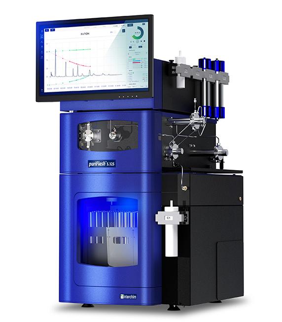 Preparative HPLC puriFlash 5.125 purification