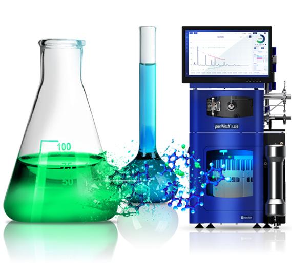 Preparative HPLC puriFlash 5.250