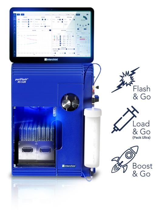 Routine Flash purification puriFlash XS 520 Plus