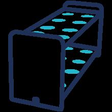 Routine Flash purification puriFlash XS 520 Plus chromatography